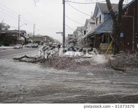 Damage from Canada Ice Storm 81873870