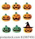 Halloween pumpkin 81987491