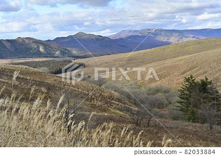 從金星線車山八島原沼澤和宇久志原高原的肩膀 82033884