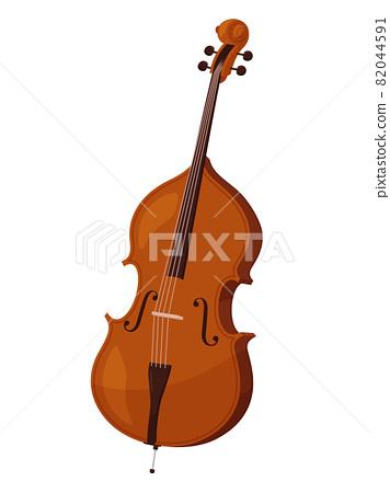 Illustration of contrabass 82044591