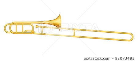 Illustration of trombone_slide 82073493