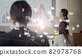 Business meeting technology 82078768