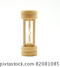 hourglass isolated on the white background 82081085