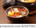 Sweet potato cooked rice 82097081