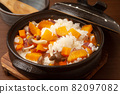 Sweet potato cooked rice 82097082