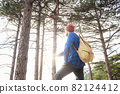 the concept of discovery and hiking, nature and freedom 82124412