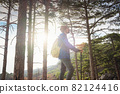 the concept of discovery and hiking, nature and freedom 82124416