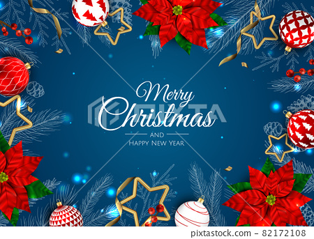 Merry Christmas sale banner template. Greeting card, banner, poster, header for website 82172108