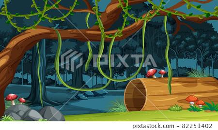 Nature forest landscape background 82251402