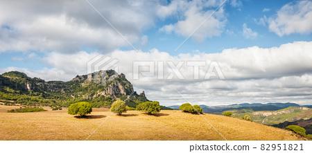 Tacchi. Mountainous landscape of Sardinia. Nature. 82951821