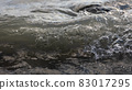 Wallpaper of floating water with sunlight with copy space 83017295