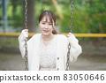 女子公園肖像 83050646