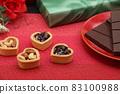 Chocolate sauce sweets 83100988