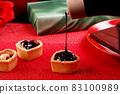 Chocolate sauce sweets 83100989
