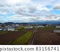 秋天的天空,四國山脈和 Kachō 平原(21 年 10 月) 83156741