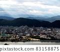 光束下的高知平原和鏡川(從五代山眺望高知市) 83158875